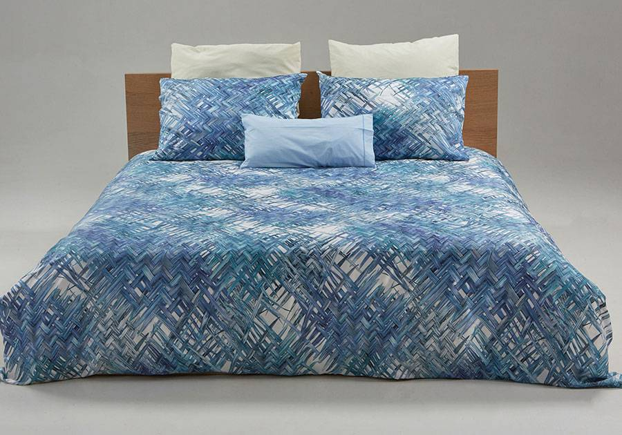 Printed custom duvet cover Bamboo