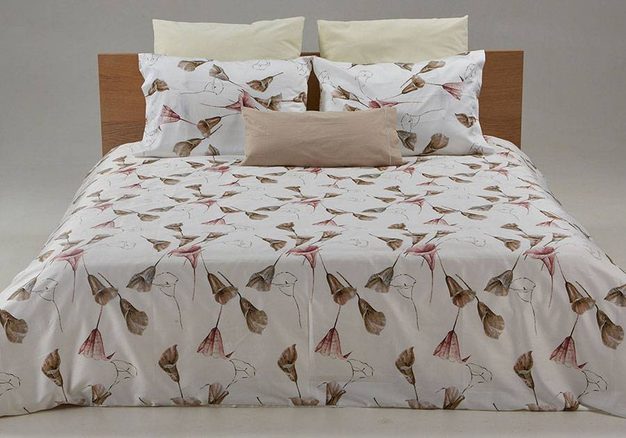Printed custom duvet cover Calla