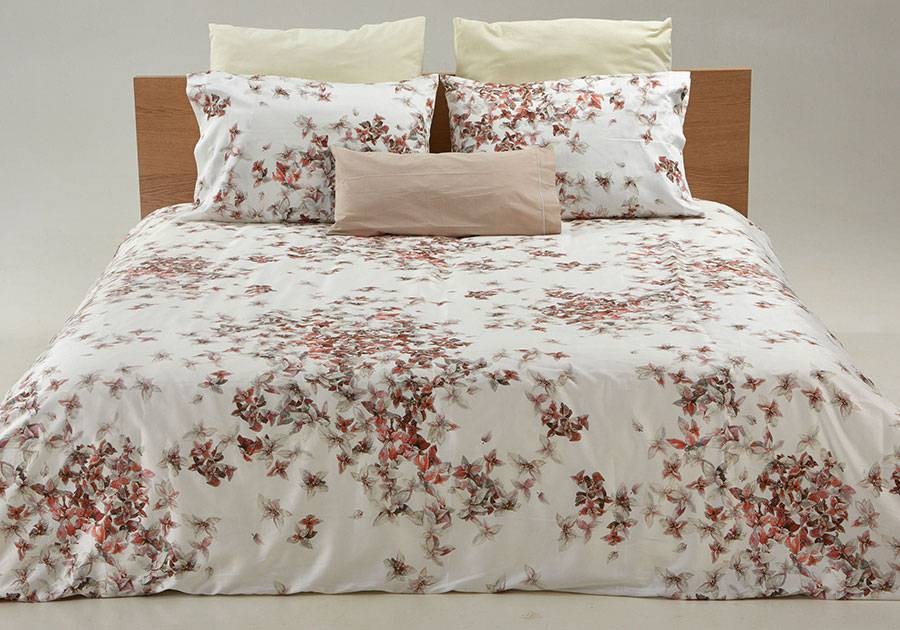 Patterned Duvet Cover Ruby