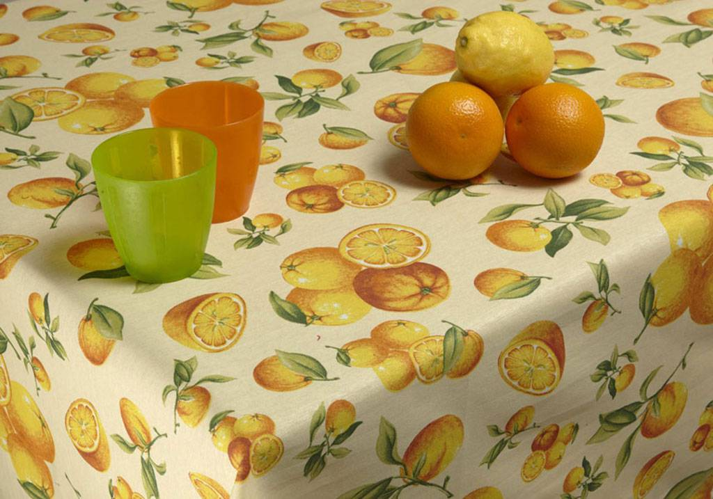 Custom size printed tablecloths