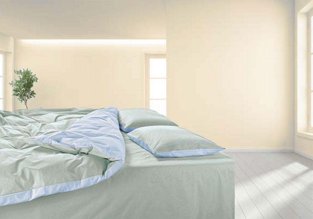 Percale made to measure duvet cover 200TC; Cotton percale bespoke duvet cover 200TC
