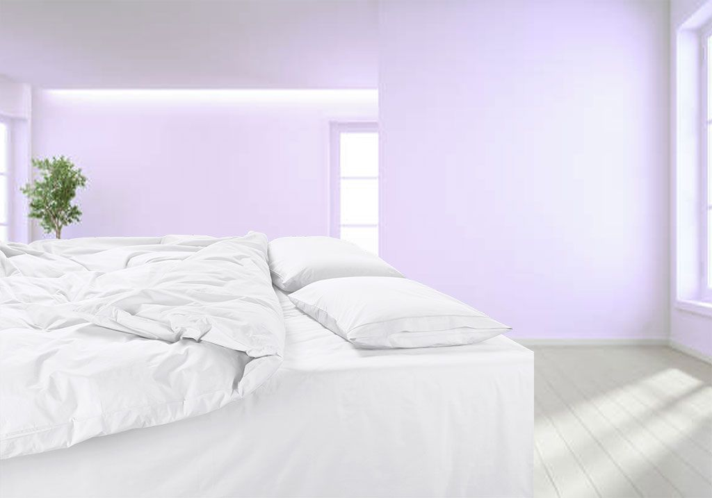 Percale made to measure duvet cover 600TC; Cotton percale bespoke duvet cover 600TC