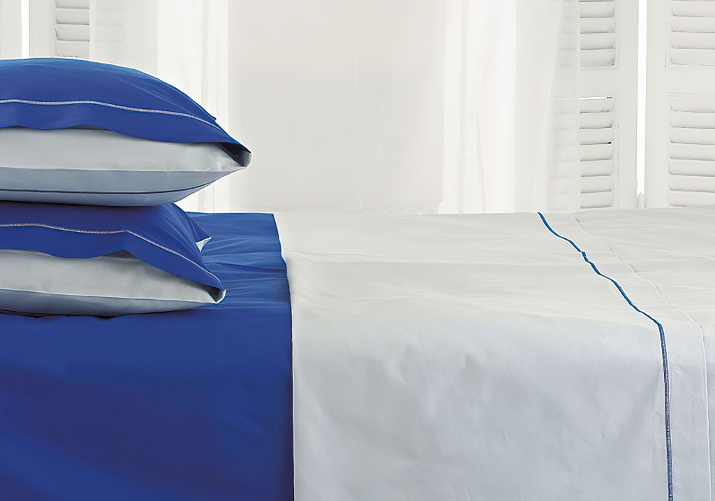 Custom Size Egyptian Cotton Percale Flat Sheet 400 TC