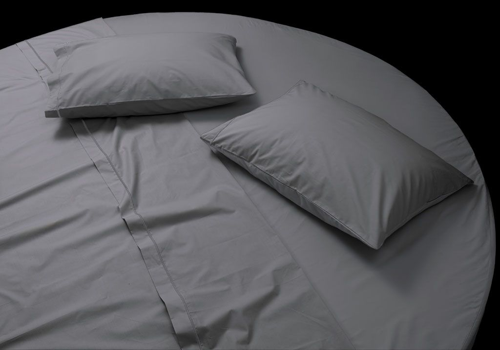 Round fitted sheet