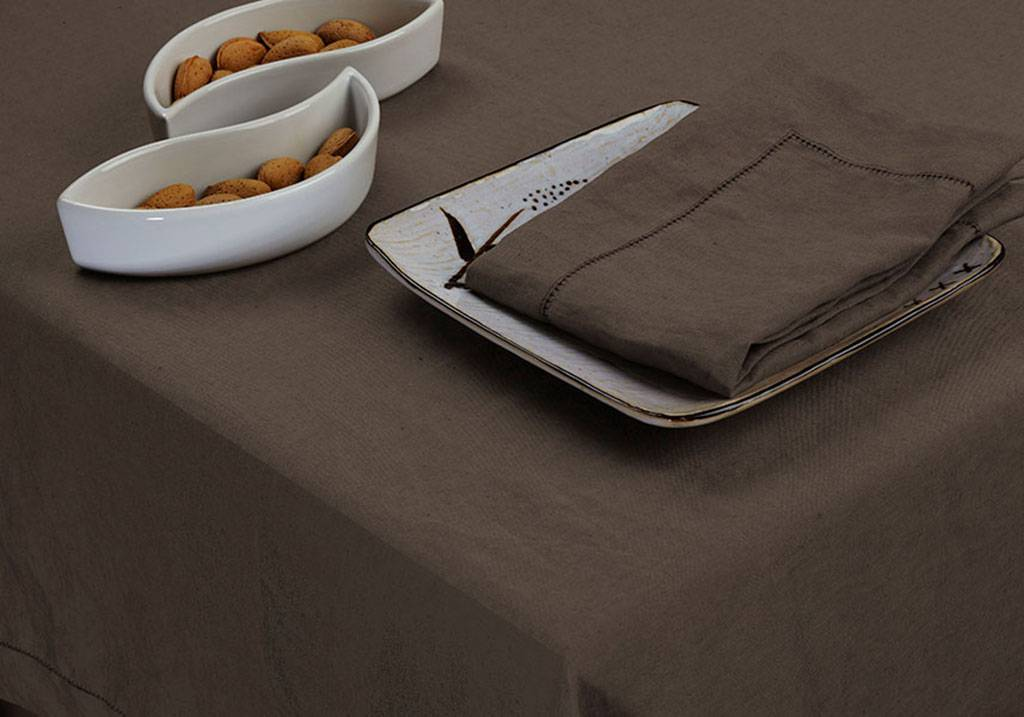 Custom Size Washed Linen Tablecloths